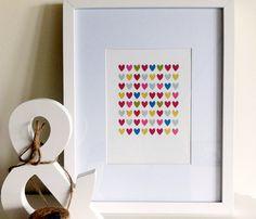 Full of Hearts Print