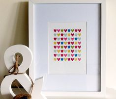 Full of Hearts Print ...perfect for #Valentines Day