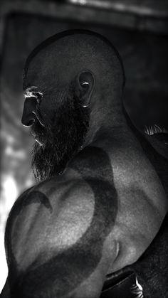 God of war 4 Game Character, Character Design, God Of War Series, Kratos God Of War, War Tattoo, Character Wallpaper, Gaming Wallpapers, Nerd, Maquillage Halloween