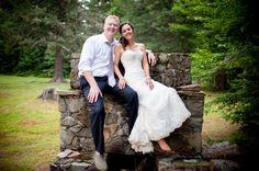 Happy Couple at Bear Tree, Pittsburg NH