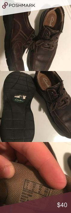 Men's Clark Shoes Men's size 10 Clark shoes really good condition hardly worn. Shoes