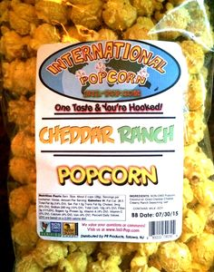 BIJOU-REVIEW: International Popcorn - Cheddar Ranch Popcorn