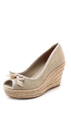 26ece6e4bfaee3 LOVE these shoes! Peep Toe Espadrilles