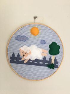 Quadro bastidor ovelha