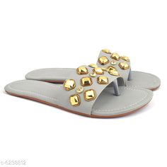 Flats  Stylish Flat Slippers Material: Synthetic Sizes:  IND-8 Country of Origin: India Sizes Available: IND-8, IND-4, IND-5, IND-6, IND-7   Catalog Rating: ★4.2 (447)  Catalog Name: ⚡Stylish Flat Slippers CatalogID_984970 C75-SC1071 Code: 572-6238812-585