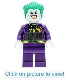 Lego DC Universe Super Heroes The Joker Minifigure Clock Batman Em Lego, Minifigura Lego, Van Lego, Batman Stuff, Spiderman, Dc Universe, Gotham City, Lego Dc Comics, The Joker
