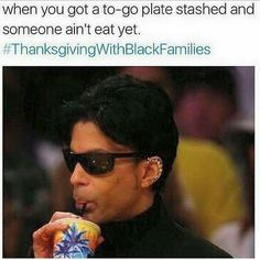 #LOL should have come earlier. #ThanksgivingWithBlackFamilies #ThanksgivingClapBack