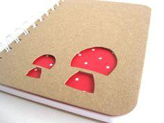 Nature Inspired Hand Carved Red Mushroom Eco Art by thenaturewalk, $14.00