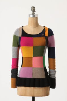 Testcard Pullover from knitmaven Sonia by Sonia Rykiel via Anthropologie Diy Fashion, Fashion Outfits, Sonia Rykiel, Pretty Outfits, Pretty Clothes, Makati, Pullover Sweaters, Cardigans, Dress To Impress