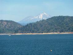 Lake Shasta- Mt Shasta