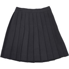 SCHOOL UNIFORM GIRLS Solid KNIFE PLEAT SKIRT ($32) ❤ liked on Polyvore featuring skirts und bottoms