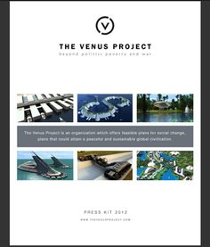 TheVenusProject.com - futuristic designs by visionary Jacque Fresco [incl free movie downloads, pdf files, technology and more]