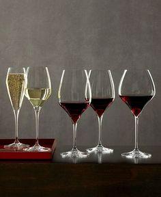 """Riedel """"Vitis"""" wine glasses. Friggin' stijlvol."""