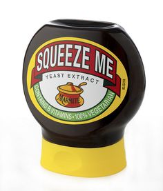 Squeezy Marmite by Liz Hunt, via Flickr