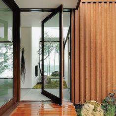 Image result for modern colorbond wood corten home