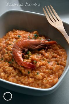with with Tomato and Cream Risotto Recipes, Pasta Recipes, Appetizer Recipes, Italian Dishes, Italian Recipes, Popular Italian Food, Italian Main Courses, Western Food, Paella