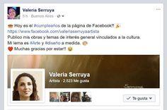 #Aniversario Facebook Page!! 2 años!! #arte #diseño #art #design #artesvisuales #artesplásticas #visualarts #arts #artesvisuais #bellasartes #bellearti #belasartes #finearts #kunst #konst #valeriaserruya #cumpleaños