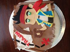 Jake and the Neverland Pirates cake by Eggleston's Edibles