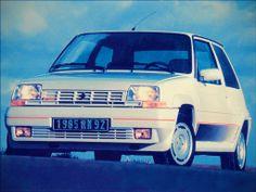 Le voiture plus populaire et plus rapide des années 80.
