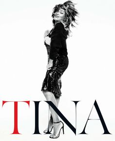 Tina Turner for Vogue Germany... I'm dying to seen Tina in concert.  Please go on tour Ms. Turner!
