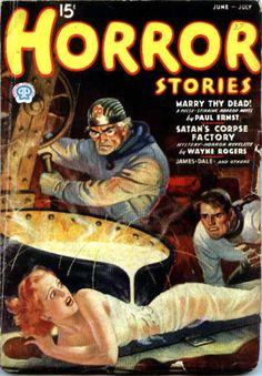 Horror Stories, June-July 1937