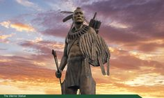Chickasaw Native Americans | The Warrior sculpture at Chickasaw Nation Headquarters