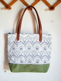 I heart this DIY inspired bag - so beautiful