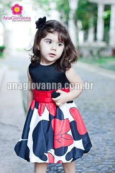Vestido Minnie ~ Vestidos de Festa para Bebe e Infantil | e-Roupas de Bebê