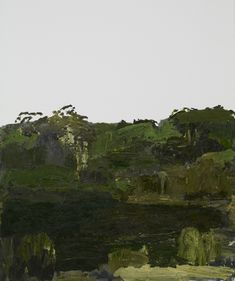 2011 No man's land — Guy Maestri Green Landscape, Landscape Art, Landscape Paintings, No Mans Land, Australian Artists, Sydney Australia, The Rock, Mountains, Guys