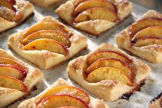 Art of Dessert: Puff Pastry Peach Tartlets