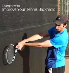 How to Improve Your Tennis Backhand