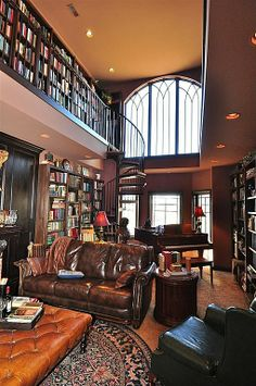 Craftsman Library - Find more amazing designs on Zillow Digs!
