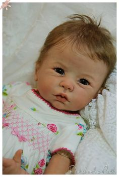 CUSTOM Order for Reborn Georgia Baby Doll by BushelandaPeckReborn