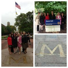 What a monumental day! #GammaPhiBeta is honored to present to the University of Michigan tonight for an incredible opportunity to potentially re-establish our Beta Chapter! We have so much inspiring history at this campus –our first extension effort, the first ΓΦΒ Song Book and the Sorority's first NPC Chairman was a Beta. Founder France E. Haven's father served as President of the University for several years and Frances was even born on the U of M campus! We want to bring Beta back!