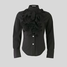Girl's Ruffle Shirt || by That'sNotFair