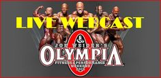 OLYMPIA WEEKEND - LIVE WEBCAST - SCHEDULE