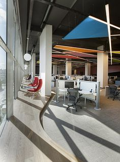 Ebay office by OSO Architects, Istanbul office healthcare