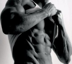 Etched abs... Rob Riches