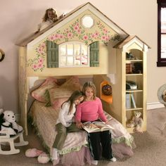 Cottage bunk bed