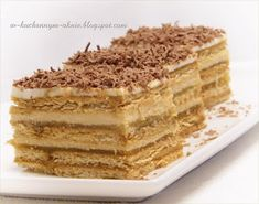 Food Cakes, Cupcake Cakes, Hungarian Desserts, Layered Desserts, Different Cakes, Polish Recipes, How Sweet Eats, Sweet And Salty, Dessert Bars