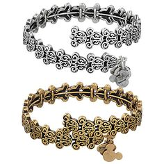 dcfa3e799 Mickey Mouse Filigree Wrap Bracelet by Alex and Ani Mickey Mouse Jewelry, Disney  Mickey Mouse