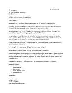 Visitors Visa Extension - Sample Cover Letter   Visa   Pinterest ...