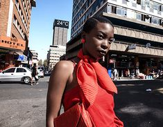 Andile Biyana in Johannesburg CBD One Shoulder, Shoulder Dress, Look At Me, New Work, Behance, Gallery, Check, Photography, Dresses