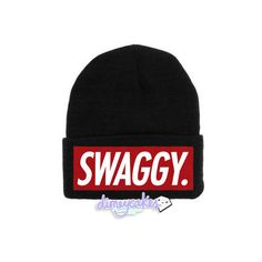 Swaggy Justin Bieber Beanie ($22) ❤ liked on Polyvore