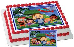 Little Einsteins Edible Cake & Cupcake by CakeTopperSpecialist