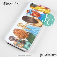 disney princesses Phone case for iPhone 4/4s/5/5c/5s/6/6 plus
