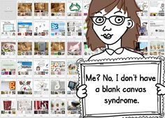 blank canvas syndrome is not invented here