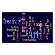 Art Inspiration - Artist, Creative Person Sticker