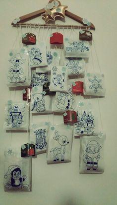 Handmade Christmas Advent Calendar :)