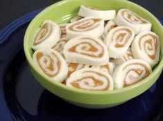 Peanut Butter Potato Pinwheel Candy (potatoes, powdered sugar, better than PB) | just a pinch